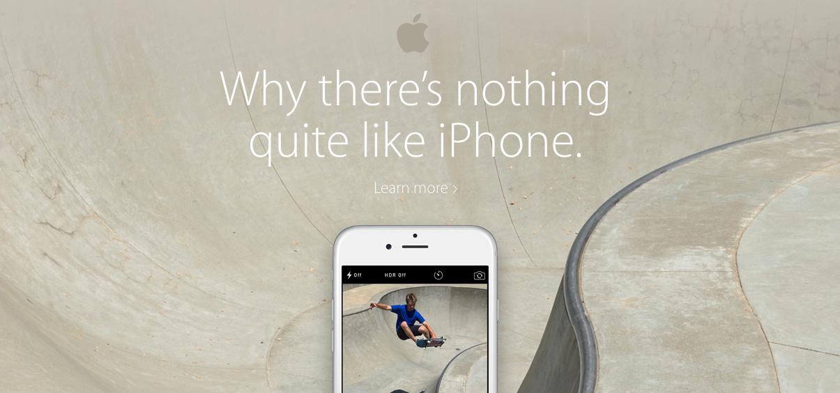 Przekaz marki Apple