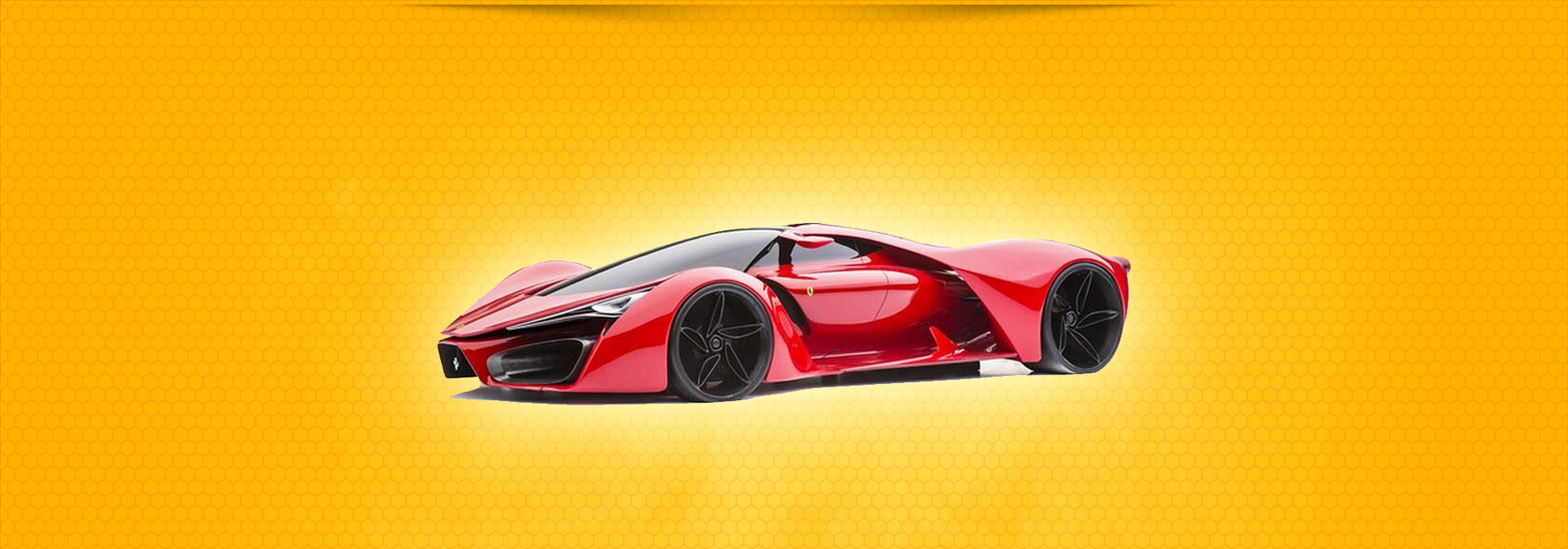 Czerwony kolor kojarzy się z określoną marką samochodu.