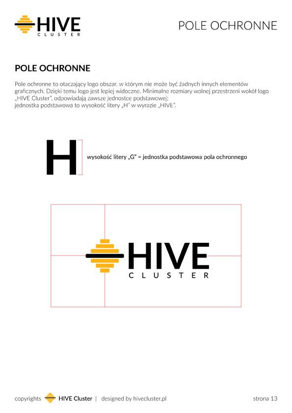 Pole ochronne logo