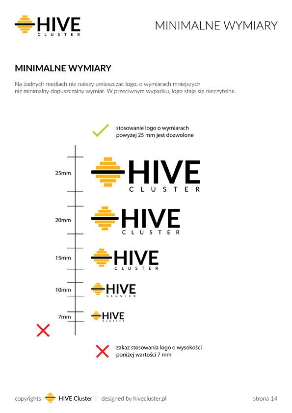 Minimalne wymiary logo