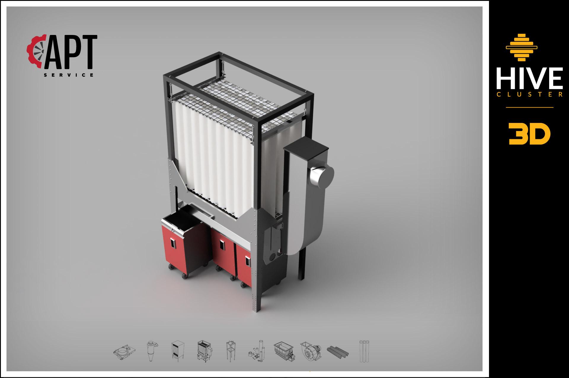APTS Filtr wewnętrzny